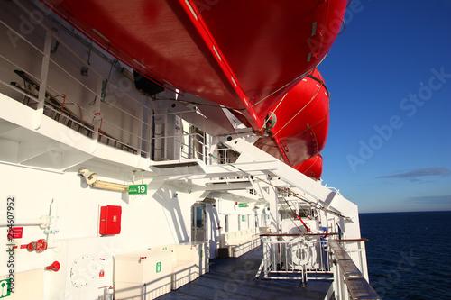 Fotografía  Ferry, Oslo, Norway, Copenhagen, Denmark, North sea