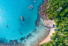 Amazing Island With Sand Beach...