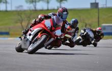Road Racing Motorcykel In High...