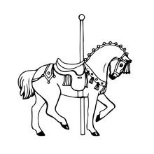 Spanish Carousel Horse