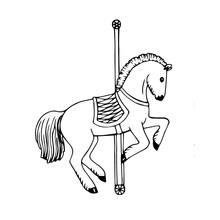Playing Carousel Horse