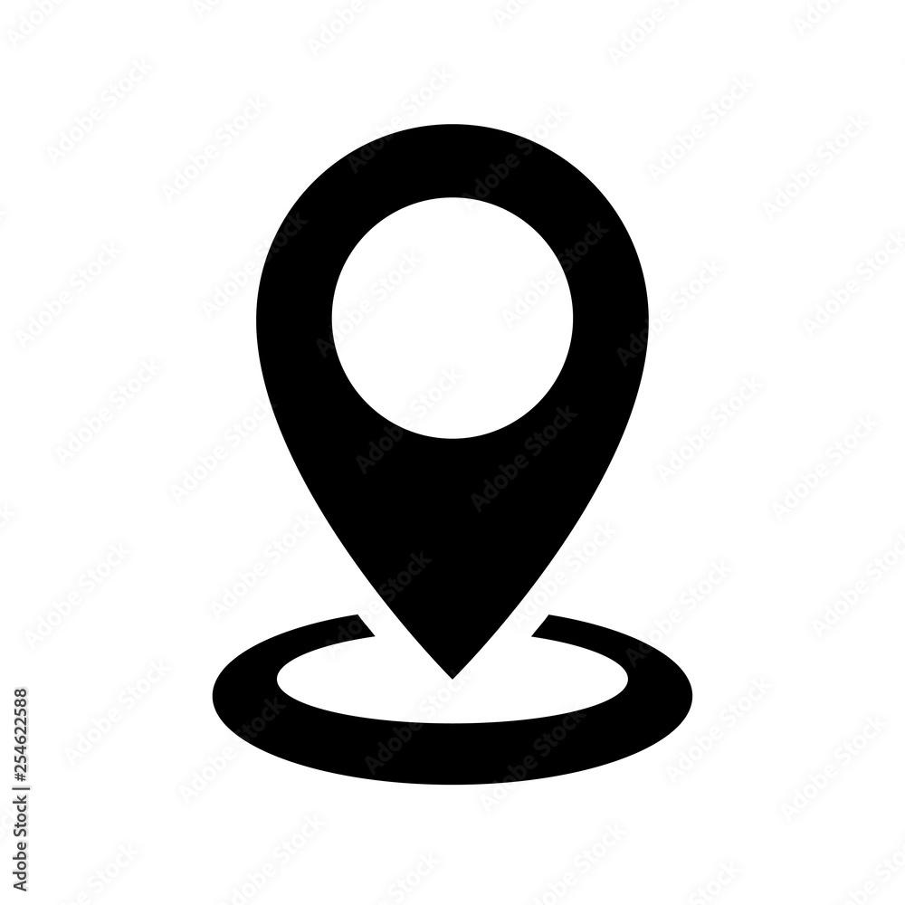 Fototapeta Location icon