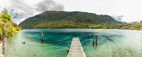Foto auf Leinwand Olivgrun The Bob's Cove, Queenstown, South Island, New Zealand