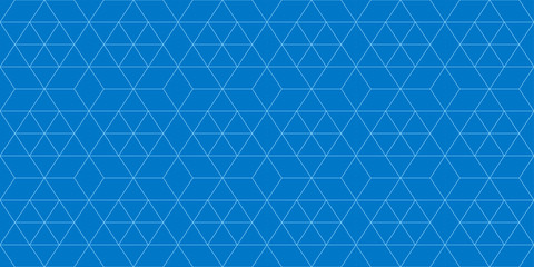 Background pattern seamless geometric abstract blue color vector.