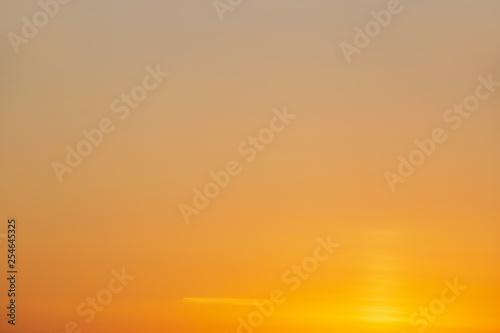 Obraz na plátně natural background: clear sunset sky