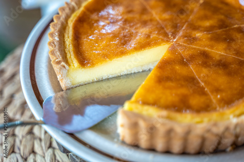 Tela Fresh Homemade Baked Custard Tart