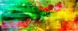 canvas print picture - malerei texturen abstrakt rakel querformat
