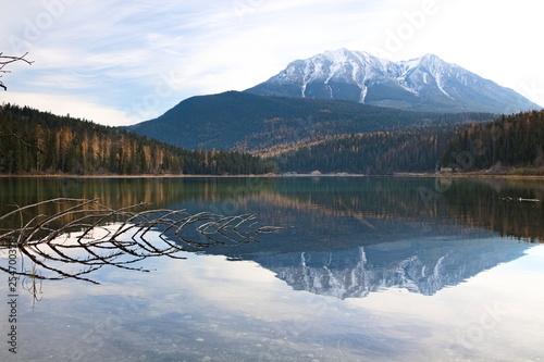 Fotografie, Obraz  Spiegelungen in einem See