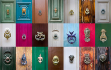 Set Of Decorative Door Knockers