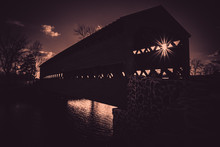 Spooky Sachs Covered Bridge In...