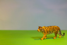 Like A Real Tiger. Toy Tiger O...