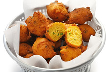 Homemade Hush Puppies, Souther...