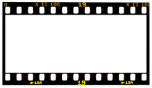 Film Strip Template With Panor...