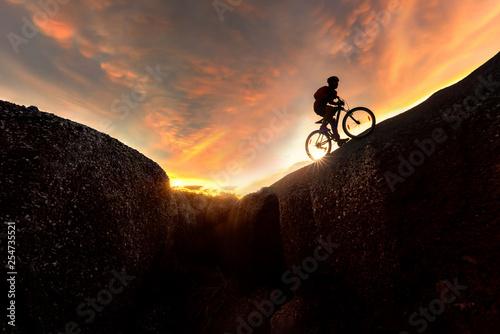 Photo  Extreme sport concept.