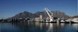 canvas print picture - South Africa, Capetown, Harbor