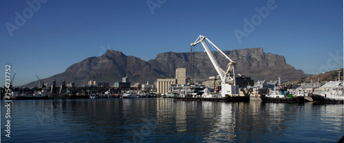 Canvas Print South Africa, Capetown, Harbor