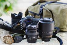 Nikon D7200 Camera With Lens Set