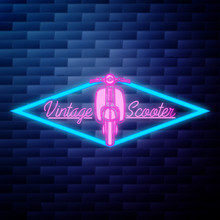 Vintage Scooter Emblem