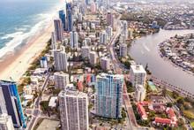 Aerial View Of Luxury Apartmen...