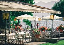 Typical Terrace Restaurant Tab...