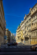 Walk through the streets and sights of Prague. Historical buildings and cultural monuments.