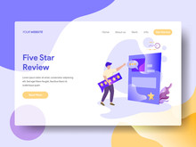 Landing Page Five Star Review