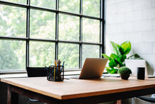 Image Of An Homeoffice Interio...