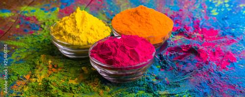 Holi color powder Slika na platnu