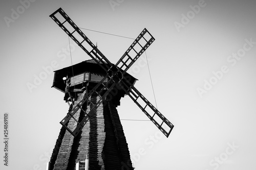 windmill, mill, wind, sky, old, architecture, blue, traditional, landscape, power, energy, building, spain, dutch, agriculture, landmark, rural, farm, history, wooden, europe, sails, holland, vintage,