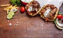 Gyro Pita, Shawarma, Take Away...