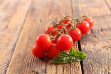 Tomato Grape And Basil