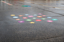 Wet Playtime. Rainy Day School...