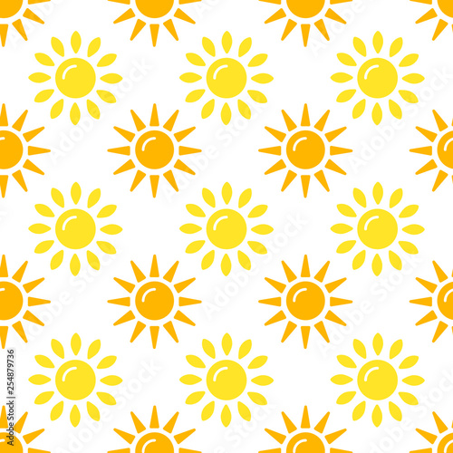 Fotomural Sun pattern collection