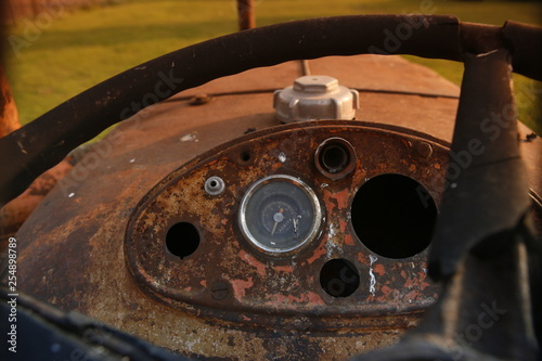 Fotografie, Obraz  tractor Fiat