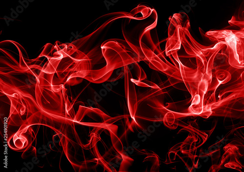 Red Smoke Abstract On Black Background Fire Design Buy This Stock Photo And Explore Similar Images At Adobe Stock Adobe Stock