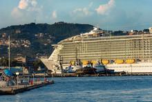 Cruise Ship - Port Of La Spezia Liguria Italy