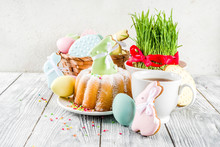 Easter Table Setting Concept, ...