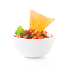 Mexican Tomato Salsa With Tort...