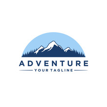 Mountain And Adventures Logo D...