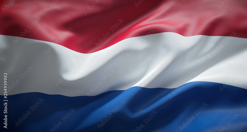 Fototapety, obrazy: Official flag of Holland.