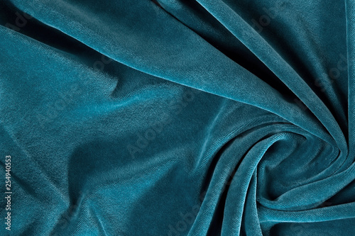 Crumpled fabric