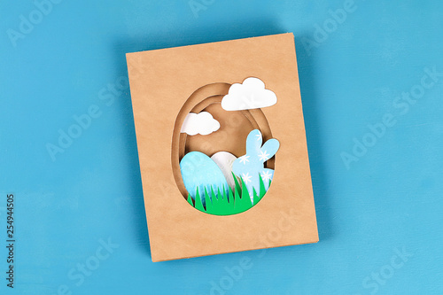 Diy Easter cards from paper Canvas-taulu