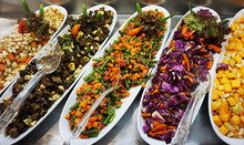 Vegetable Salads From Egypt