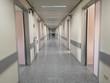 The hospital corridor