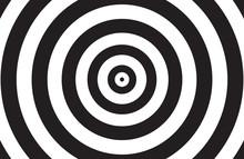 Black And White Circle Backgro...