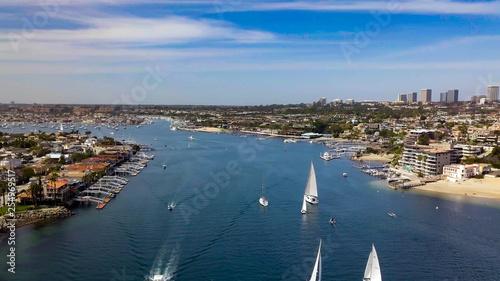 Valokuvatapetti Newport Beach, California Coast (Corona Del Mar)