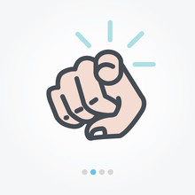 Point Of You Vector Icon