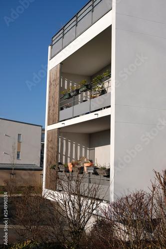Photo loggias d'immeuble