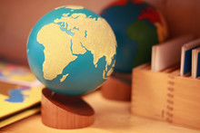 Montessori Globe Of Land And W...