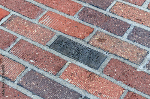 The yard of bricks in Indianapolis Motor Speedway